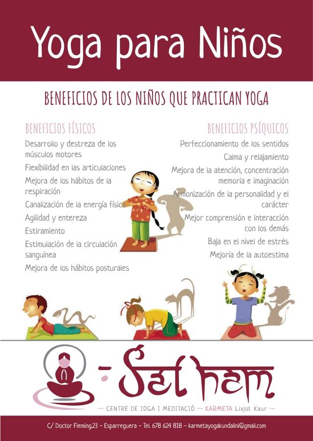 Yoga para Niños  0b2362e1000d