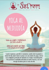 yoga mediodía esparraguera